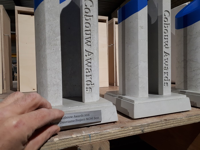 Levering betonnen Cobouw Awards 2018