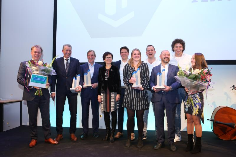 Levering betonnen Cobouw Awards 2018 en 2019